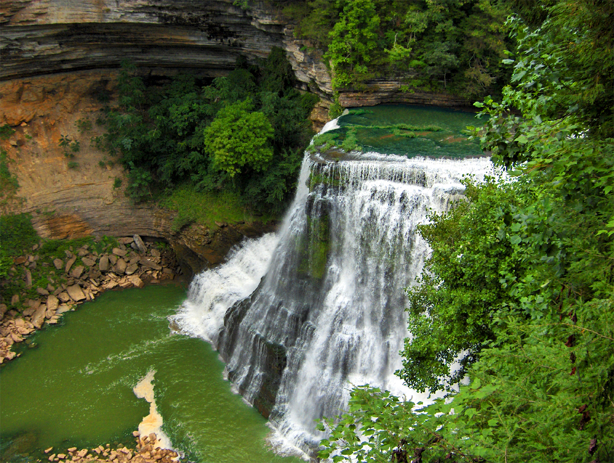 See The Waterfalls Of The Caney Fork On Our Upper Caney