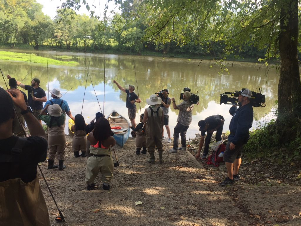Little Women Atlanta Getting Ready for some Fly Fishing!